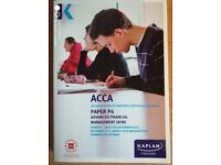 Kaplan ACCA P4 Advanced Financial Management Exam Kit 2017-18