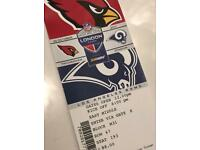 NFL Tickets - Cardinals v Rams - Best Offer