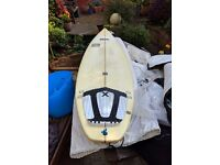 "6ft 5"" Surf Board 19.5"" x 2.5"""