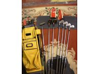Golf Bag and Christy O`Connor clubs