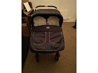 Double or twin buggy pram, parent-or-forward-facing *PRICED FOR QUICK SALE*