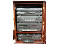 Philips FP9400 HiFi music system and cabinet.