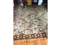 Antique Art Nouveau Rug- large Blackwood and Morton Kilmarnock