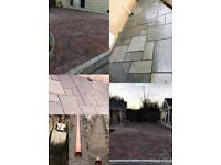 PATIOS•DRIVEWAYS•BLOCK PAVING•CONCRETING•FOUNDATIONS•BRICKWORK•DRAINAGE•SOAKAWAYS•FENCING