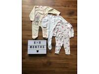 6-9 Month Sleepwear