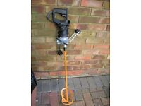 Refina Mega Variable Mixer MN19 240v Brand New Plasterers/ Dry Liners With Paddle