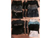 Baby boys clothes bundle 110 items
