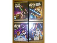 Highly Collectable Double disc Starwars DVD's **Must See** Great Condition..Great Xmas Gift