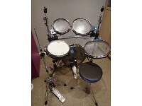 Traps A400NC Acoustic Drum Kit (Like Arbiter Flats) - HARDLY USED - hardware, stool, no cymbals