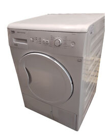 Beko DCU8230W Front-Loading Electric Dryer - 8 kg - White