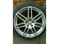 19 inch Audi A4 S Line / RS4 Alloys