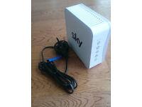 Sky Wireless Router Modem ADSL Hub SR101 White