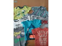 baby boys 3-6 months summer clothes bundle