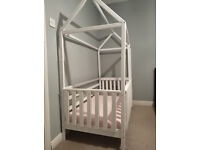Custom wooden child bed