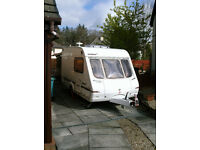 2003 Swift Charisma 2 berth caravan. Good condition. Incl all essentials , plus porch & full awning.