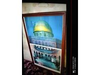 Very cheap. Al Aqsa picture. Collect today cheap