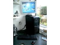 PC, Keyboard, Mouse, WiFi Card, Monitor and seperate Webcam