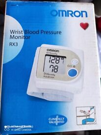 Wrist blood pressure monitor. Brand New boxed. Collect today cheap