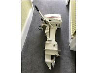 Johnson Seahorse 7.5hp 2 stroke, 2 cylinder outboard motor