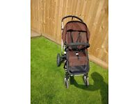 Bugaboo Chameleon 2 - chocolate brown EXTRAS