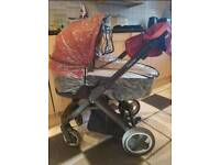 Oyster pushchair system