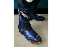 RST Tractech Evo motorbike boots Size 11 UK
