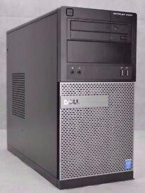 Dell Optiplex 3020 Desktop PC Mini Tower - i5-4590 3.30GHz - 500GB HDD - 8GB DDR3 RAM (4 remaining)