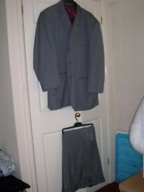 Large size grey gent's suit