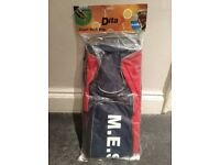 Mary Erskine School, Brand New Dita Giant Stick Bag, Hockey. Red & Navy. M.E.S