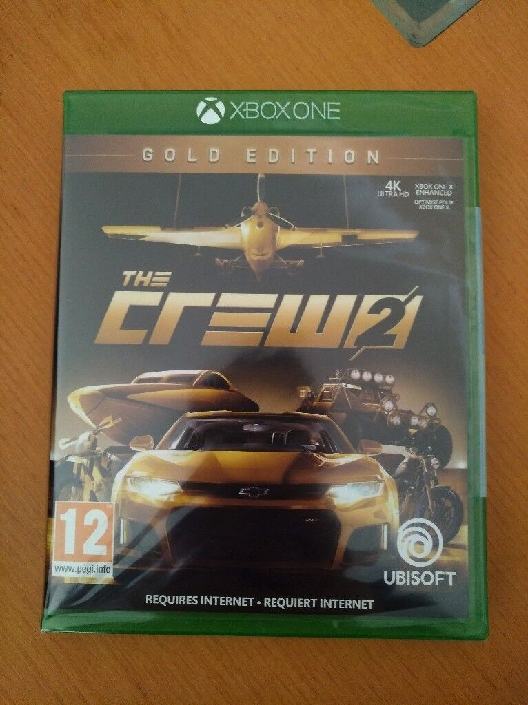 BRAND NEW And SEALED The Crew 2 Gold Edition For Xbox One Xbone