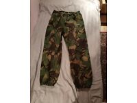 Gore-tex Army trousers