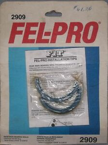 FEL-PRO #2909 GM 400 SMALL BLOCK REAR MAIN SEAL FOR ALIGN-BORED Belleville Belleville Area image 1
