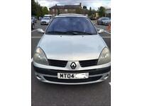 Renault clio 1.1 only done 43000 MOT till next year cheap to insure and cheap to run