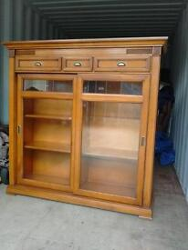 Beautiful cherry wood SELVA cabinet - free local delivery