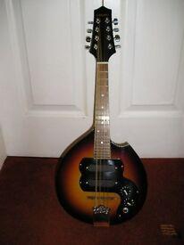 Cozart electric mandolin with hard case