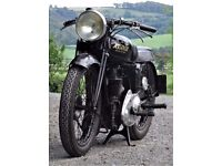 1937 Rudge Whitworth Rapid, Pre War, Girder Rigid Vintage Motorcycle