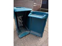 Tack box for horse trailer/ lorry