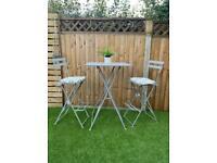 Garden Table and Chairs. Garden Furniture. Bar set