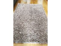 Dunelm Cream Speckled Rug