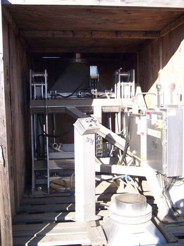 National Bulk Equipment bin dumper, Model 21-711SP