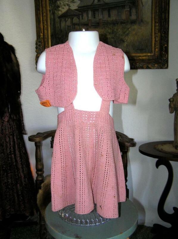 Vintage Delicate Grandma Crochet 1930