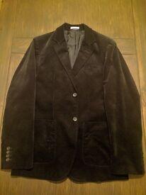 Immaculate Black velvet GAP jacket