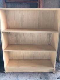 Pine Effect Bookcase