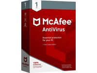 McAfee 2018 Antivirus for 1 Device