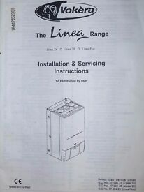 Gas Boiler, Vokera Linea 28, Combi Gas Boiler, Spares or Repair