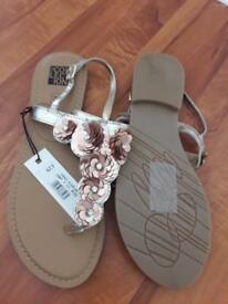 Debenhams sandals. New with tags