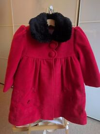 Gorgeous Papillon girls coat - 2-3 yrs old
