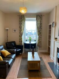 Bright 1 bed furnished flat in Gorgie