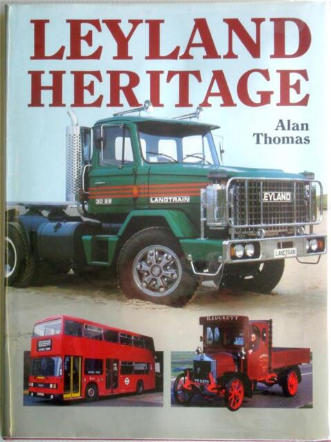 LEYLAND HERITAGE ALAN THOMAS COMMERCIAL BOOK