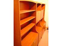 Wall Unit Dresser - traditional - three units - £20 each unit (£60 total)